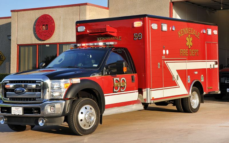 Medic 59 Emergency Vehicle