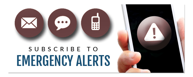 Subscribe to Emergency Alerts