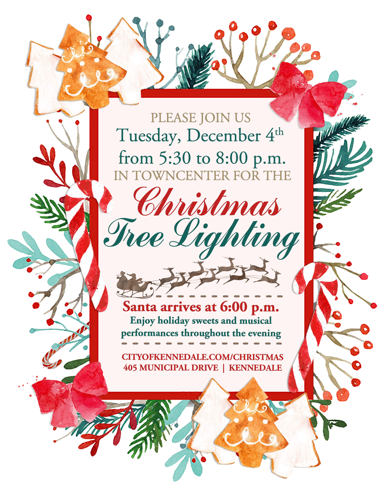 Tree Lighting Invite