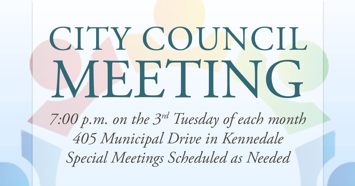 City Council Regular Meeting