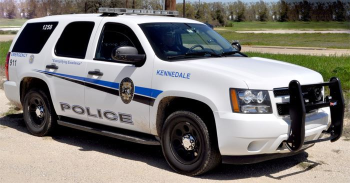 Kennedale Police Department Patrol Vehicle