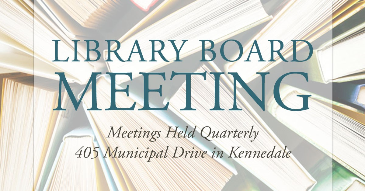 Library Advisory Board Regular Meeting