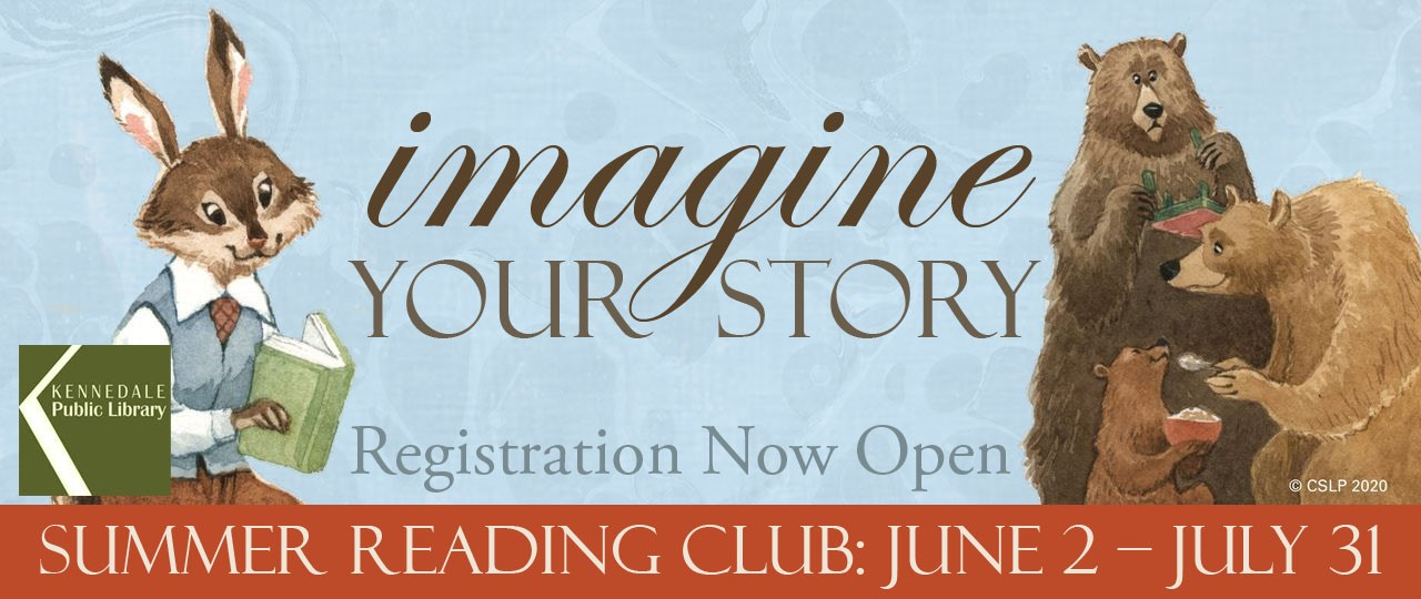 Summer Reading Club 2020: Imagine Your Story