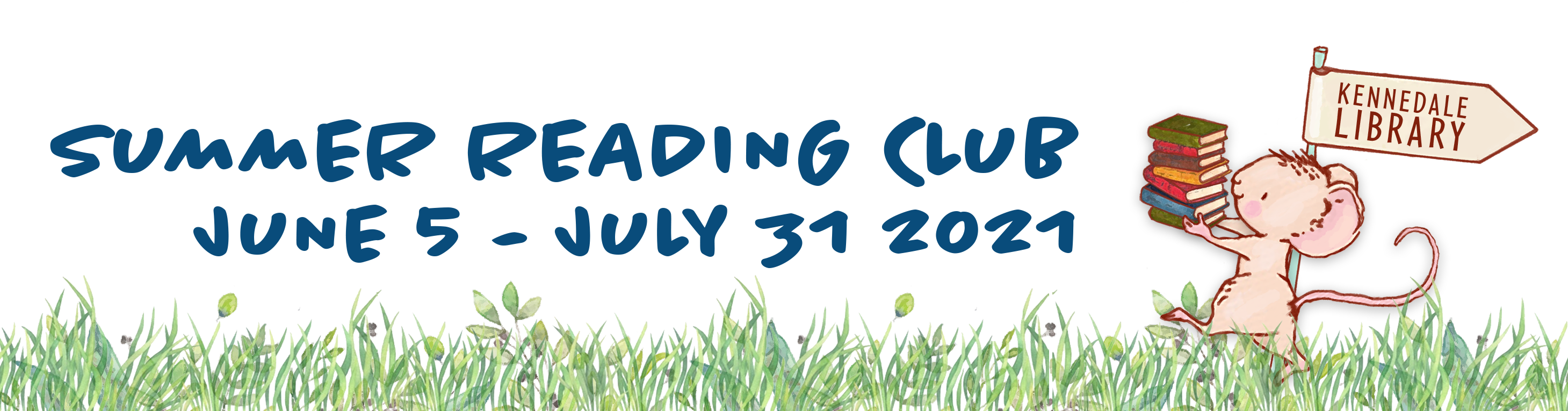 Summer Reading Club: June 5 through July 31, 2021